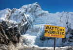 Canvas-sisustustaulu Mount Everest Basecamp 346