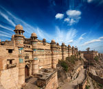 Canvas-taulu Gwalior Fort Intia 2480