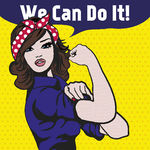 Canvas-taulu We can do it 3133