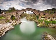 Canvas-taulu Kivisilta Asturias Espanja 923