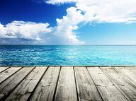 Canvas-sisustustaulu Aavan meren rannalla 187