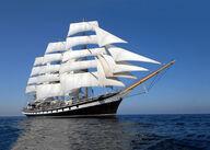 Canvas-sisustustaulu Tall Ships Fregatti 257
