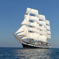 Canvas-sisustustaulu Tall Ships alus 1832