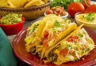 Canvas-sisustustaulu Tacos 2095