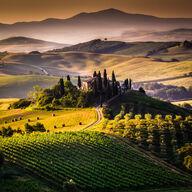 Canvas-taulu Toscana maisema 2452