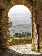 Canvas-taulu Toscanan maisema Italia 2457