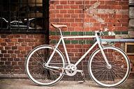 Canvas-taulu Tyylikäs retro polkupyörä 2510