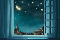 Canvas-taulu Tähtitaivas 2570