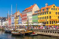 Canvas-taulu Nyhavnin alue Kööpenhamina Tanska 2834