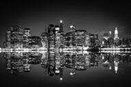 Canvas-taulu New York yöllä MV 2872