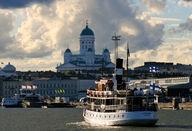 Canvas-taulu Näkymä mereltä Helsinki 3049
