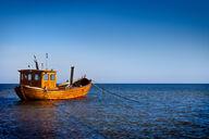 Canvas-taulu Puinen kalastusvene Reposaari 3057